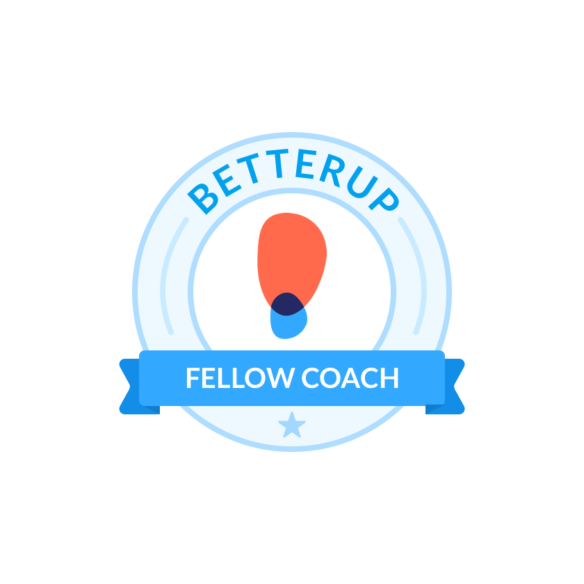 This image has an empty alt attribute; its file name is betterup-fellow-coach-badge.png